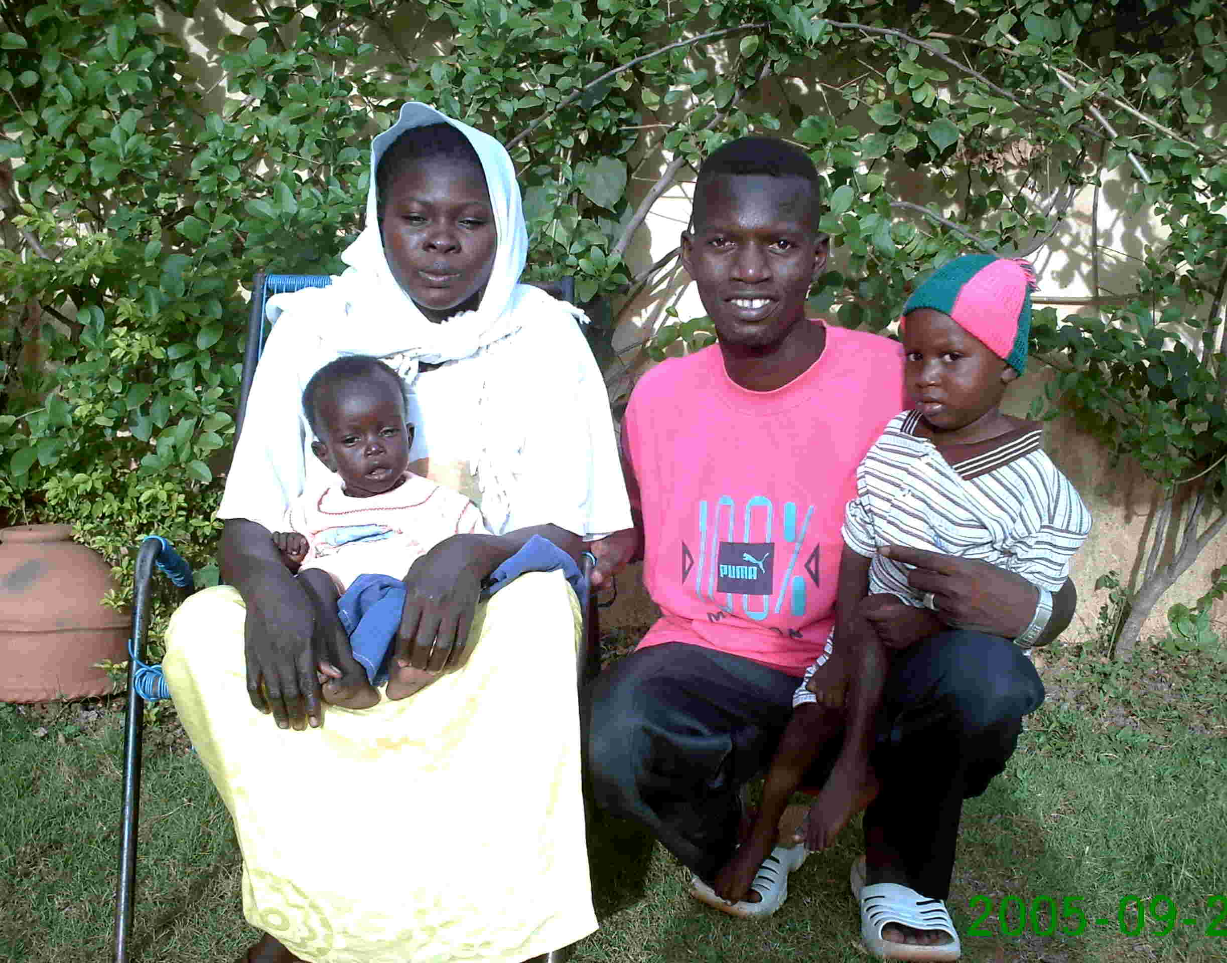 Seybou & his family